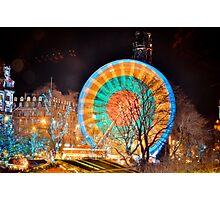 Ferris Wheel, Edinburgh Photographic Print