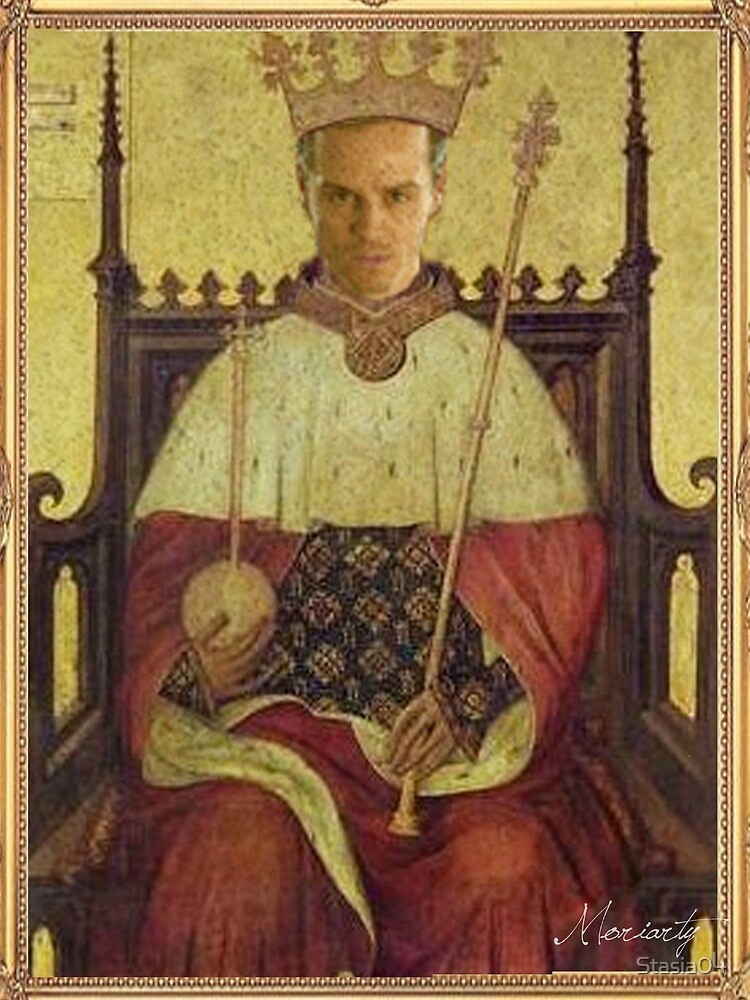 Moriarty Sherlock as King by Stasia04