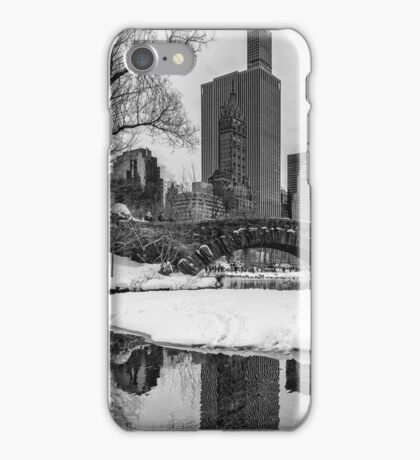 Winter Fun at the Gapstow iPhone Case/Skin
