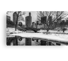 Winter Fun at the Gapstow Canvas Print