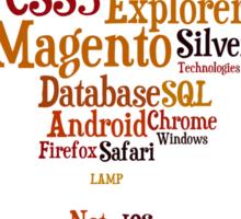 IT-Clouds Sticker