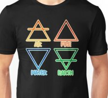 Air, Fire, Water, and Earth Unisex T-Shirt