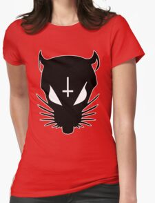 black ZEF rat Womens Fitted T-Shirt