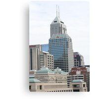 Indy Buildings Canvas Print
