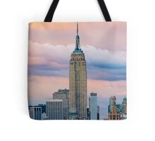 Empire State Cotton Candy Tote Bag