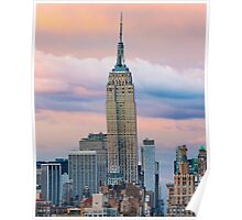 Empire State Cotton Candy Poster