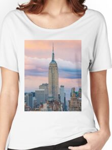 Empire State Cotton Candy Women's Relaxed Fit T-Shirt