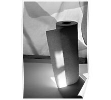 Composition with Paper Towels and Sunlight 3 Poster