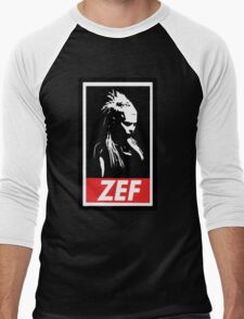 Zef Queen Men's Baseball ¾ T-Shirt