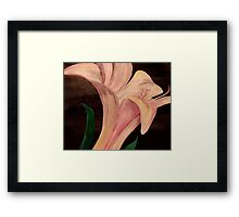 Young Blossom Framed Print