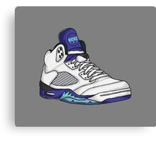 Shoes Grapes (Kicks) Canvas Print
