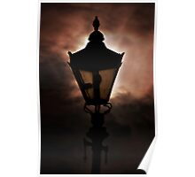 Gas Lamp Poster
