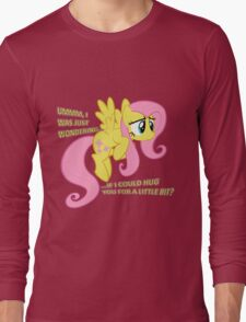 Fluttershy hug? Long Sleeve T-Shirt