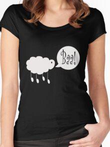 Baa! Women's Fitted Scoop T-Shirt