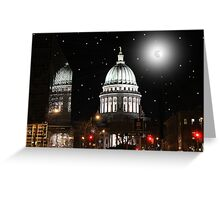 Reflections of a Capital City Greeting Card