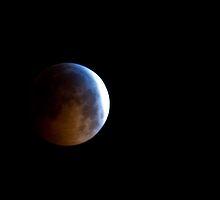 Lunar Eclipse, December 21, 2010 - Pennsylvania by Jason Heritage