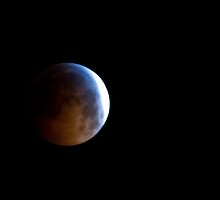 Lunar Eclipse, December 21, 2010 - Pennsylvania by Jason Heritage