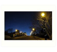 Little Star That Wanted To Be A Street Lamp Art Print