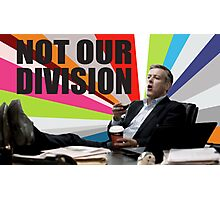Sherlock - Not our division Photographic Print