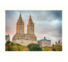 San Remo After Rain Art Print