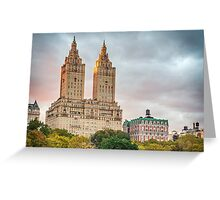 San Remo After Rain Greeting Card