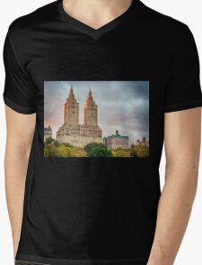 San Remo After Rain Mens V-Neck T-Shirt