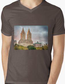 San Remo After Rain Mens V-Neck T-Shirt