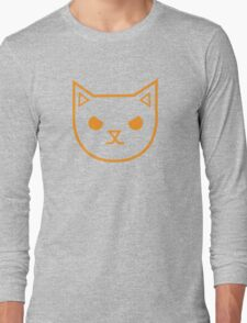 Very Mad angry kitty Long Sleeve T-Shirt