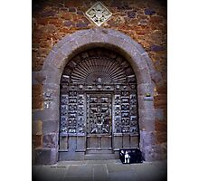 Medieval Door Photographic Print