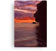 Dusk over Monkey Island Canvas Print