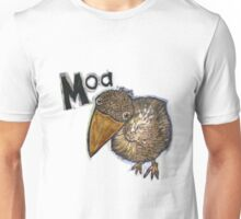 Looking down on the Moa Unisex T-Shirt