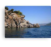 Sea Rocks Canvas Print