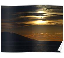 The Fascination Of The Setting Sun II - La Fascinación Del Sol Poniente Poster