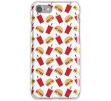 Burger and Soda iPhone Case/Skin