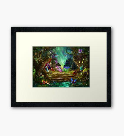 The Dancing Auroras Framed Print