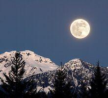 Moon Glow, Whistler by Pierre Leclerc