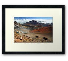 Haleakala crater, Maui Framed Print
