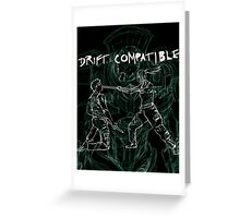 Pacific Rim Drift Compatible Greeting Card