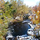 Boulder Creek in the snow by YogiColleen