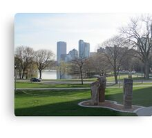 Milwaukee Skyline Cityscape Metal Print