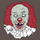 Zombie clown by vargasvisions