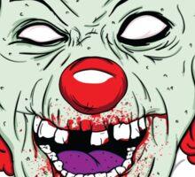 Zombie clown Sticker