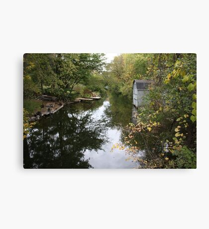 Oconomowoc Riverscape Canvas Print