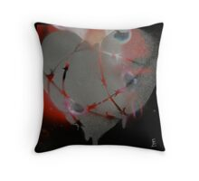 Airport X-Ray Vision Throw Pillow