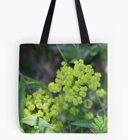 Flowers of Green Tote Bag