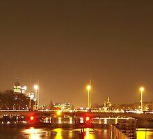 Torontobridge by night by AnnoNiem