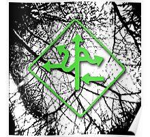 Arrows - Green Poster