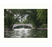 The Yahara River Art Print