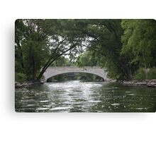 The Yahara River Canvas Print