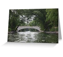 The Yahara River Greeting Card